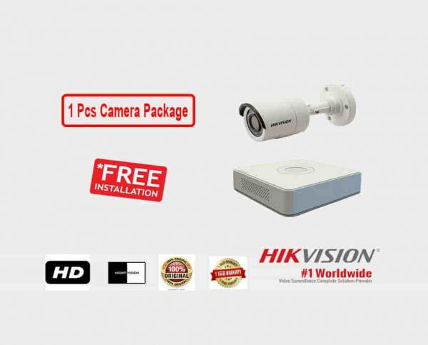 1 Pcs CCTV Camera Package